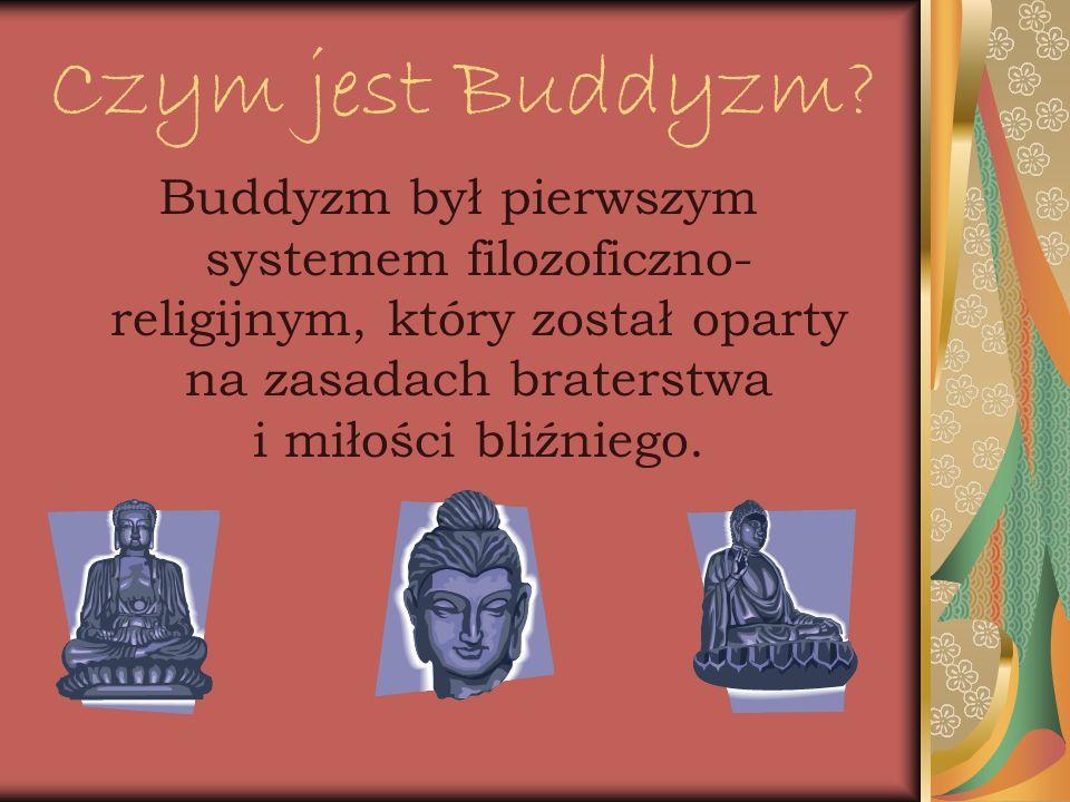 Czym jest Buddyzm.