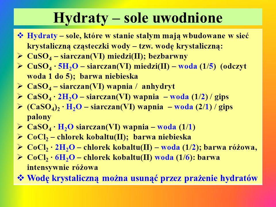 Hydraty – sole uwodnione