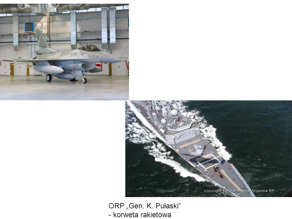 "ORP ""Gen. K. Pułaski - korweta rakietowa"