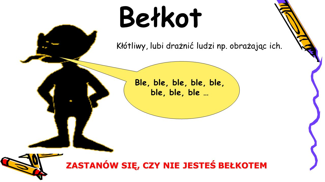 Ble, ble, ble, ble, ble, ble, ble, ble …