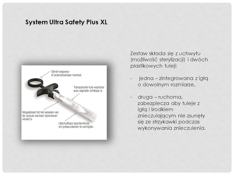 System Ultra Safety Plus XL