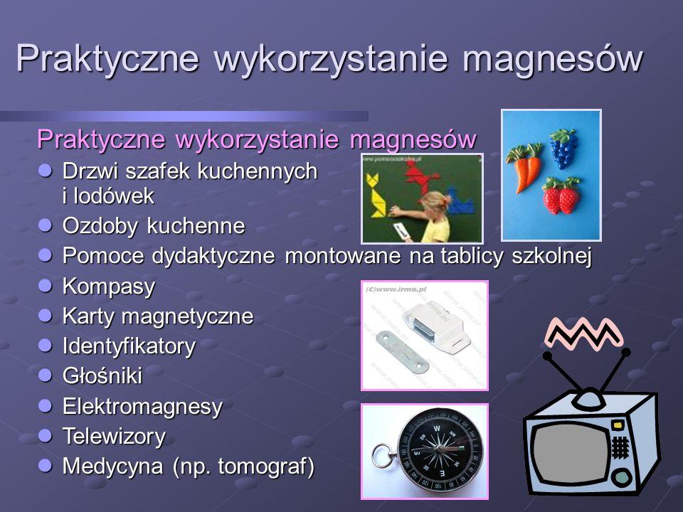 Praktyczne wykorzystanie magnesów