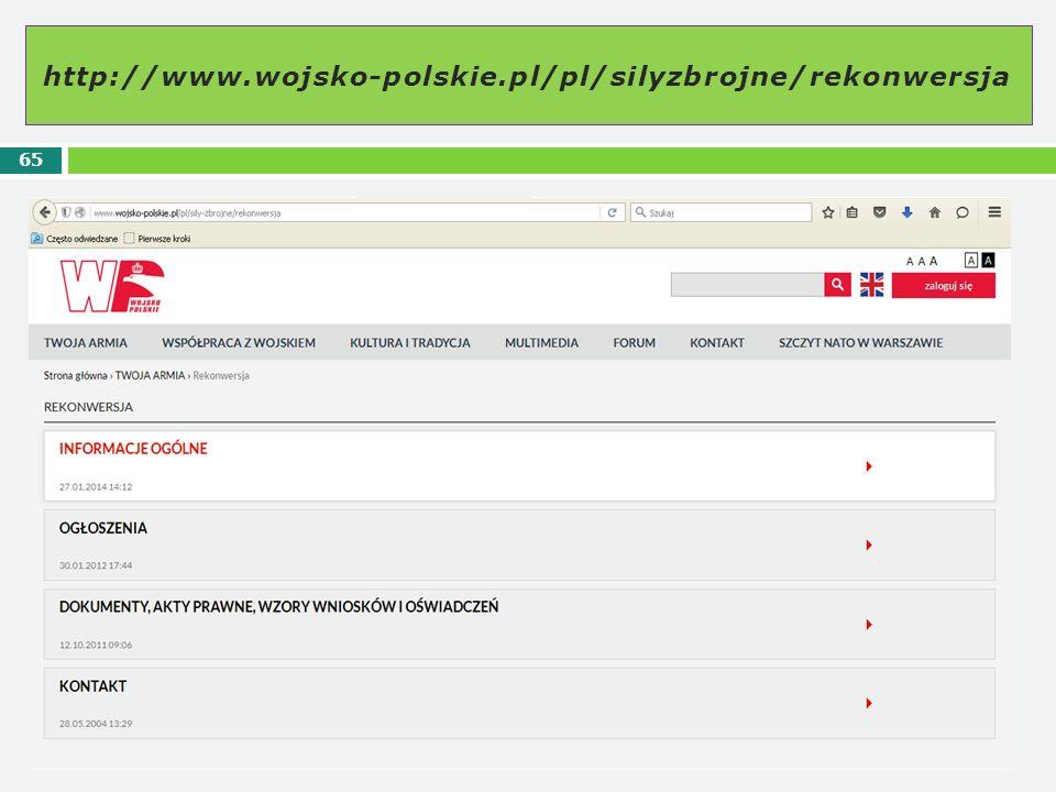 http://www.wojsko-polskie.pl/pl/silyzbrojne/rekonwersja