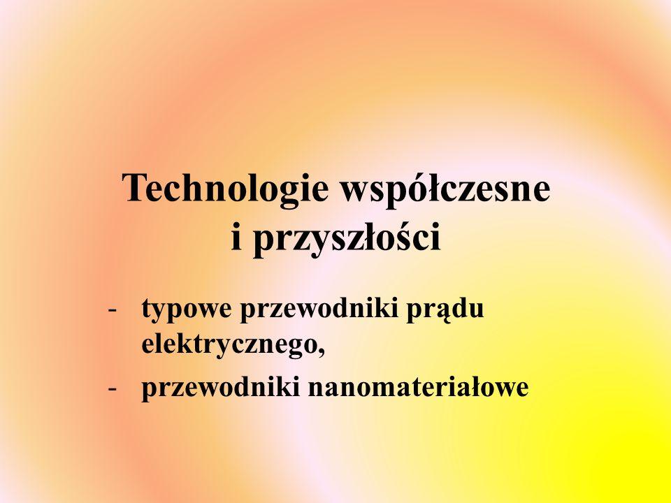 Technologie współczesne i przyszłości