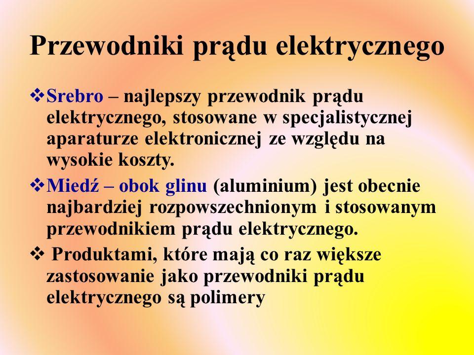 Przewodniki prądu elektrycznego