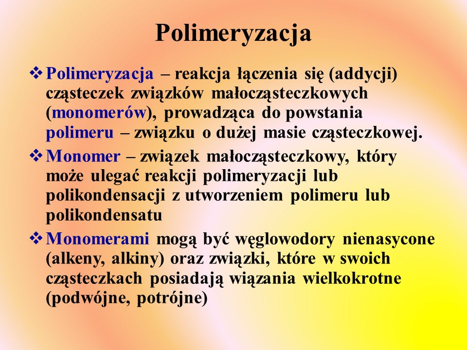 Polimeryzacja