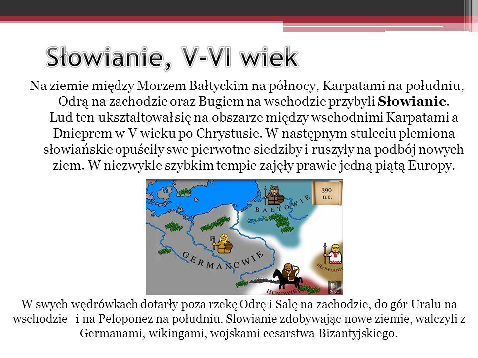 Słowianie, V-VI wiek