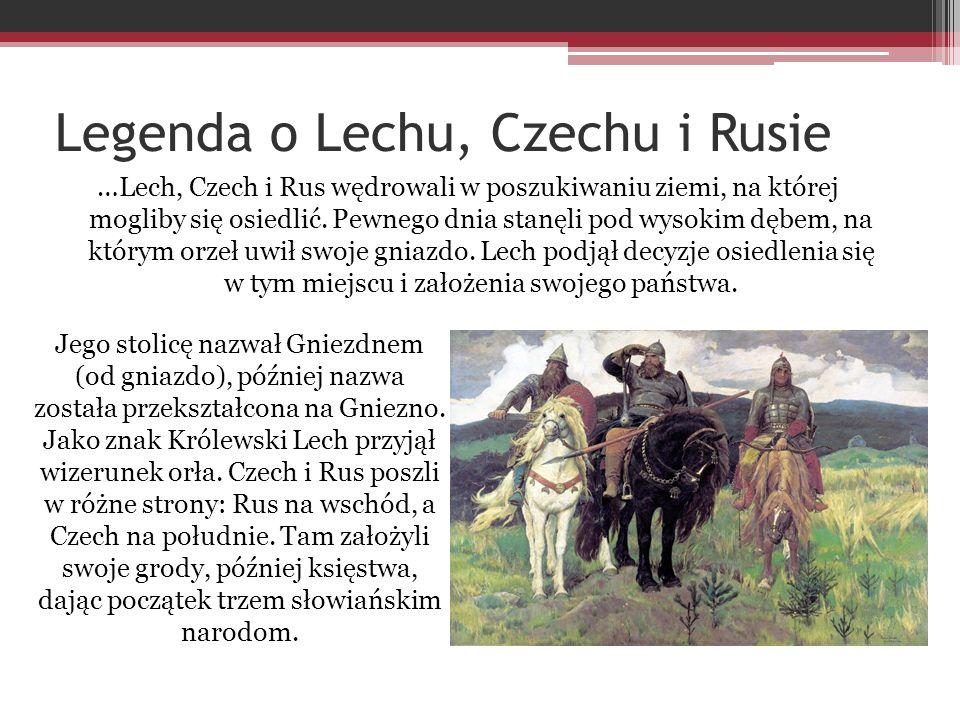Legenda o Lechu, Czechu i Rusie