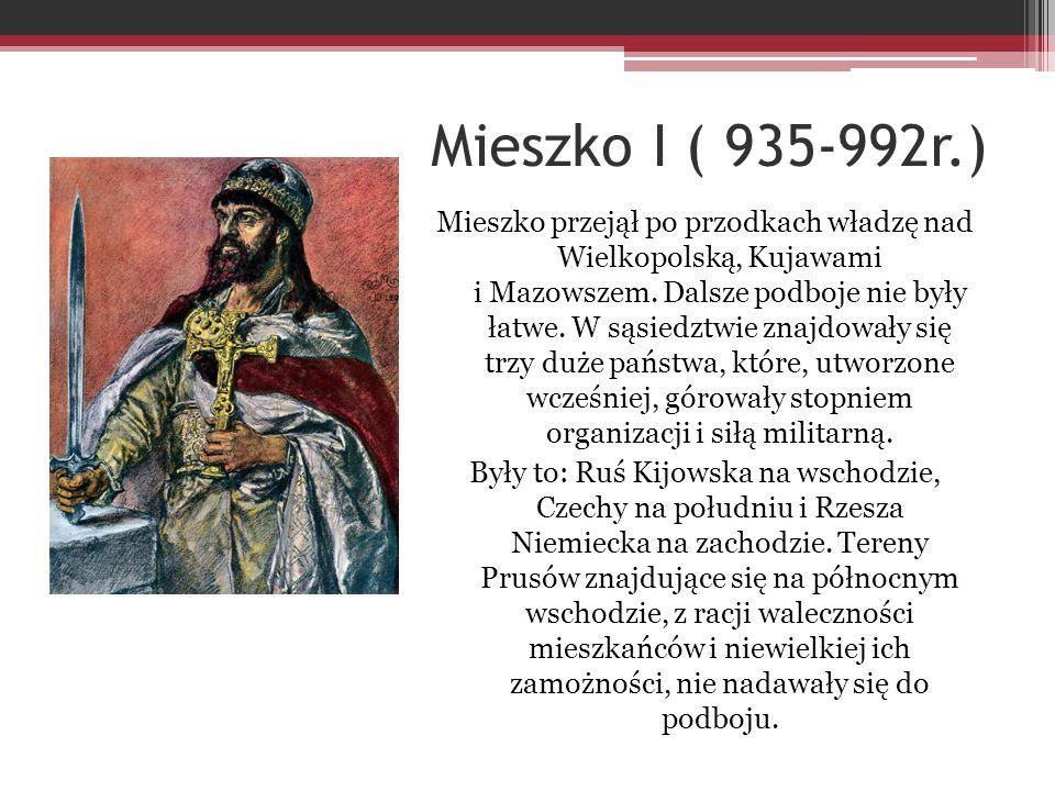 Mieszko I ( 935-992r.)