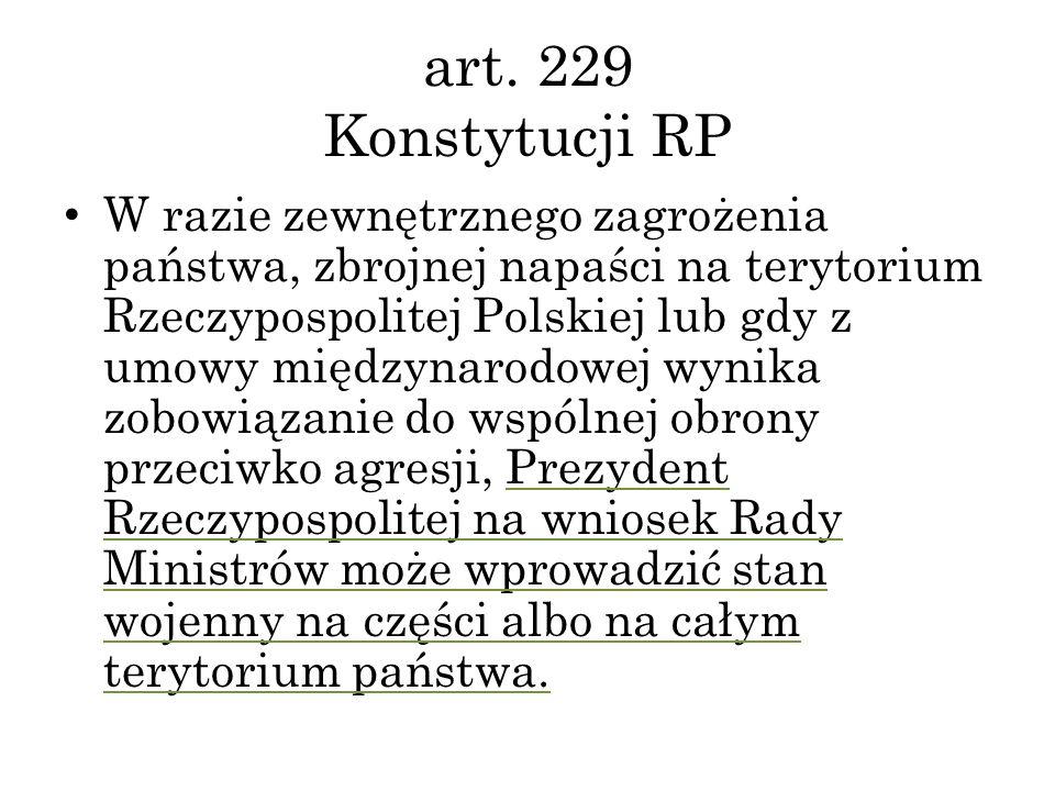 art. 229 Konstytucji RP