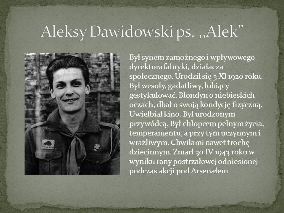 Aleksy Dawidowski ps. ,,Alek