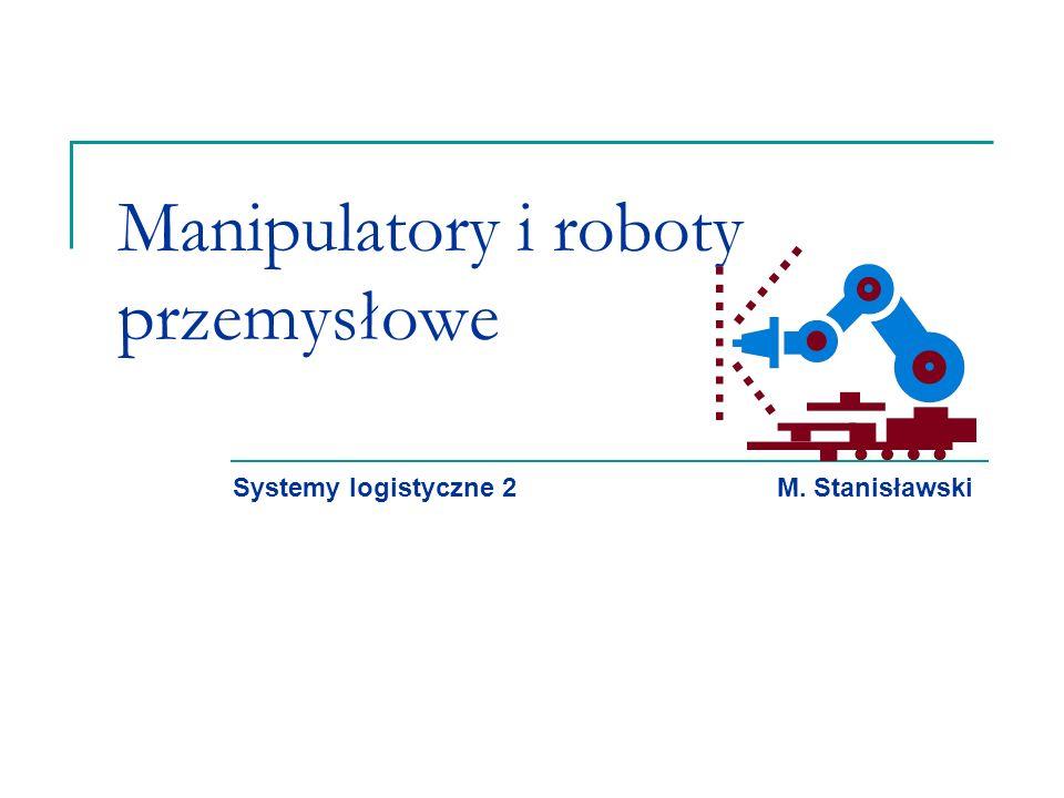 Manipulatory i roboty przemysłowe