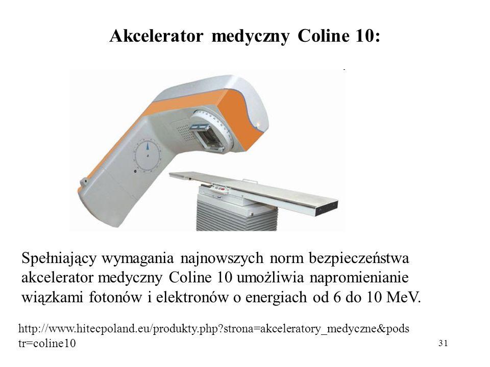 Akcelerator medyczny Coline 10: