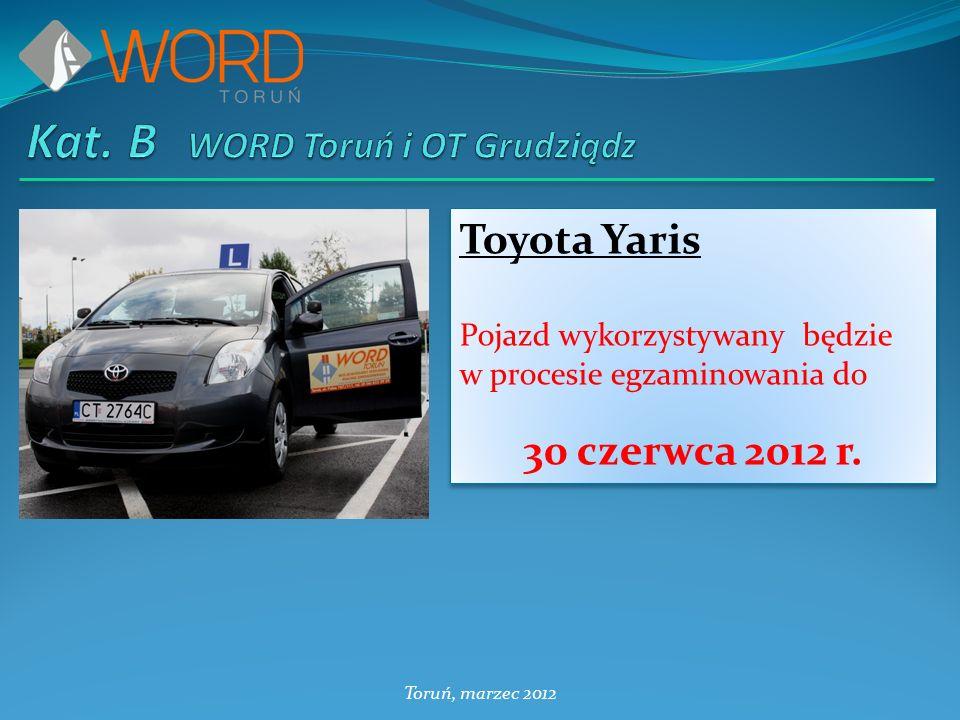 Kat. B WORD Toruń i OT Grudziądz
