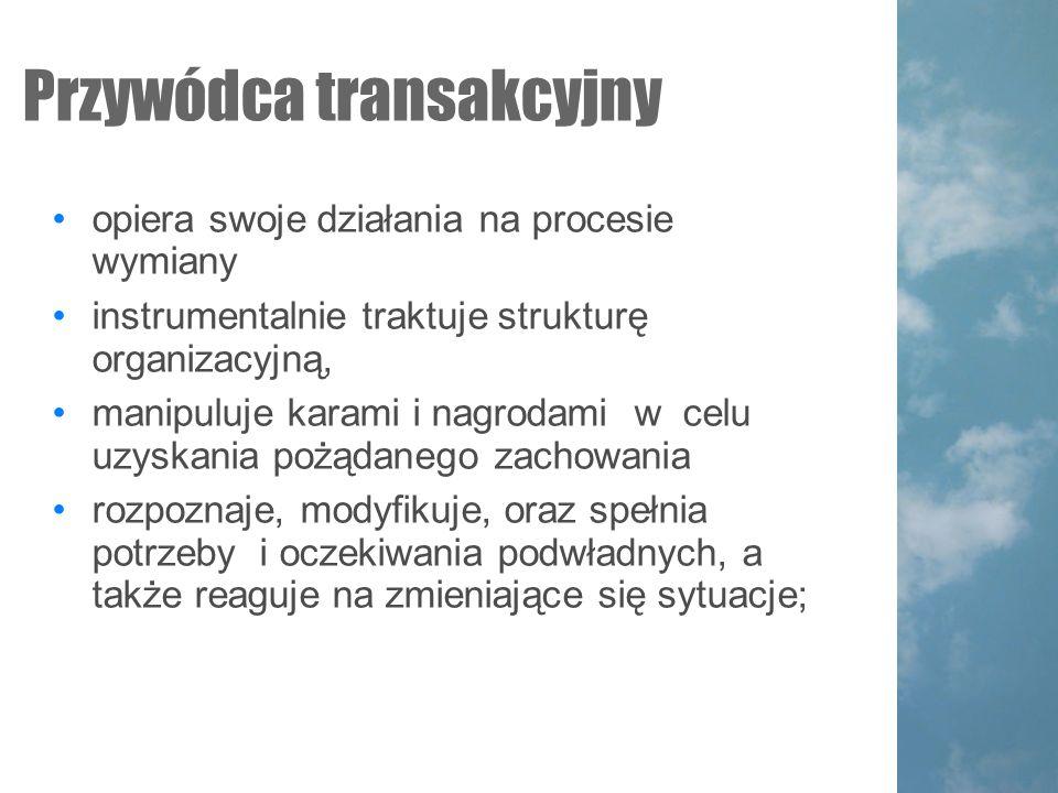 Przywódca transakcyjny