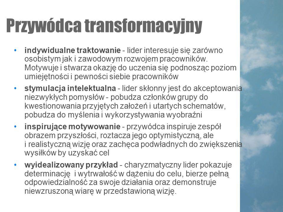 Przywódca transformacyjny