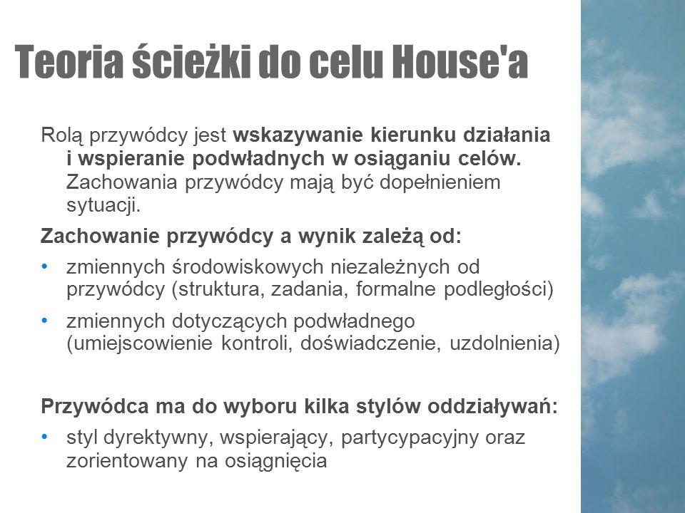 Teoria ścieżki do celu House a