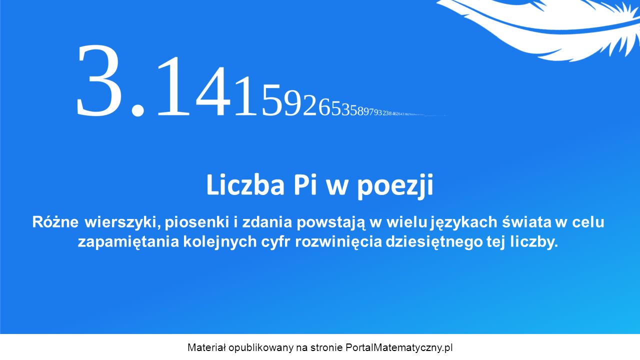 Materiał opublikowany na stronie PortalMatematyczny.pl