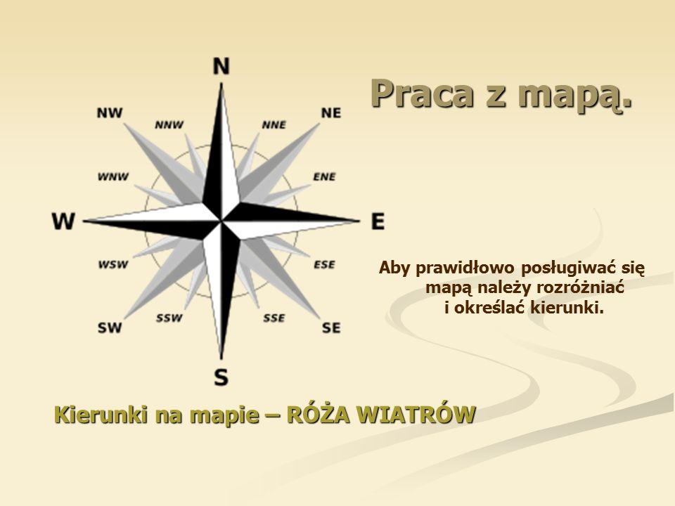 Kierunki na mapie – RÓŻA WIATRÓW