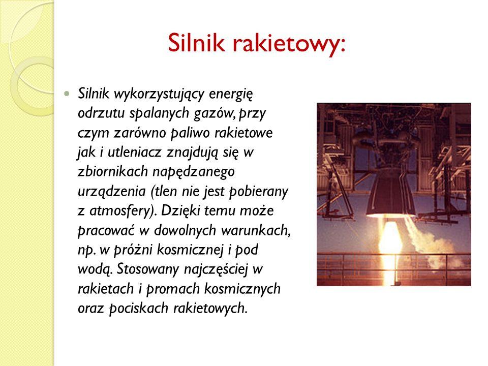 Silnik rakietowy:
