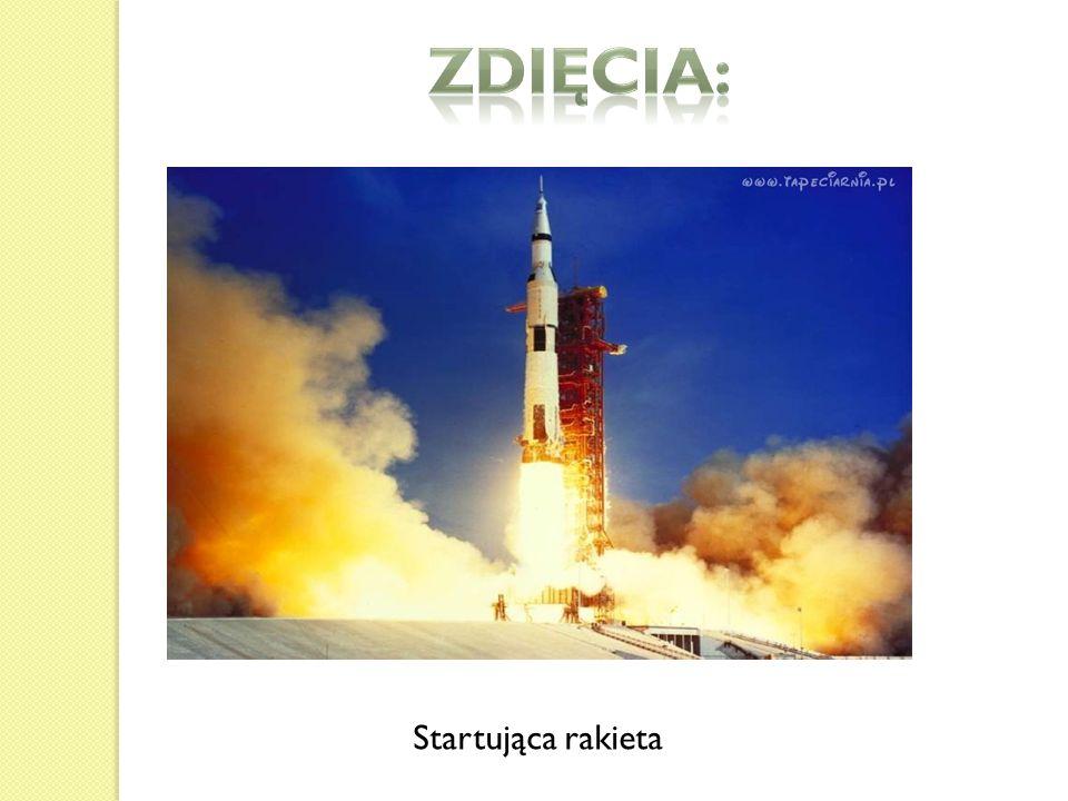 Zdięcia: Startująca rakieta