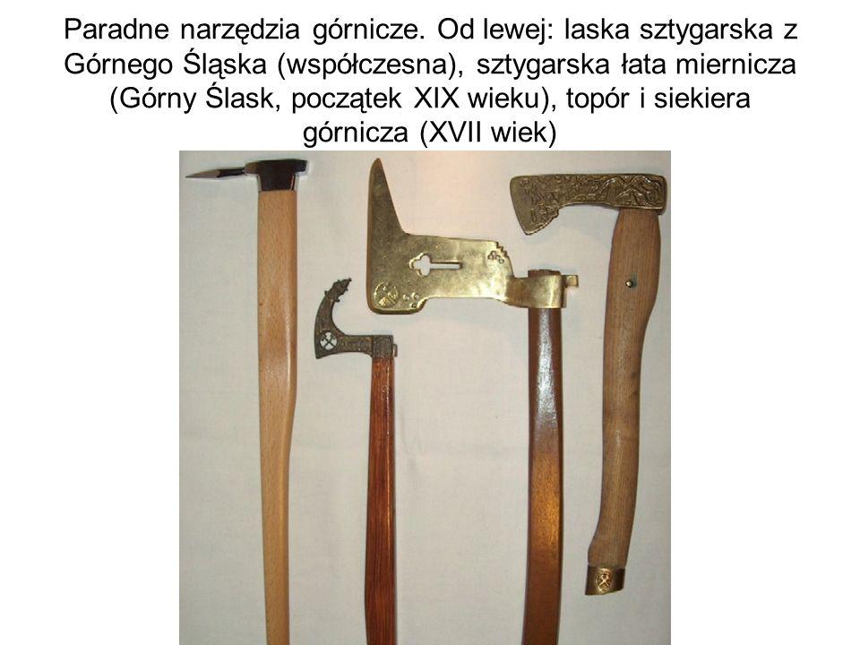 Paradne narzędzia górnicze