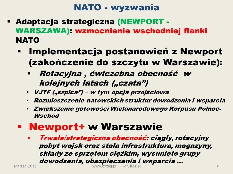 Newport+ w Warszawie NATO - wyzwania
