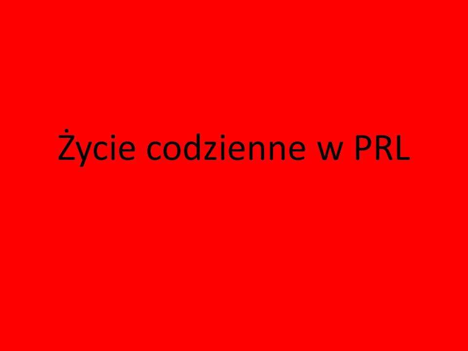 Życie codzienne w PRL