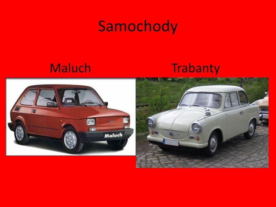 Samochody Maluch Trabanty