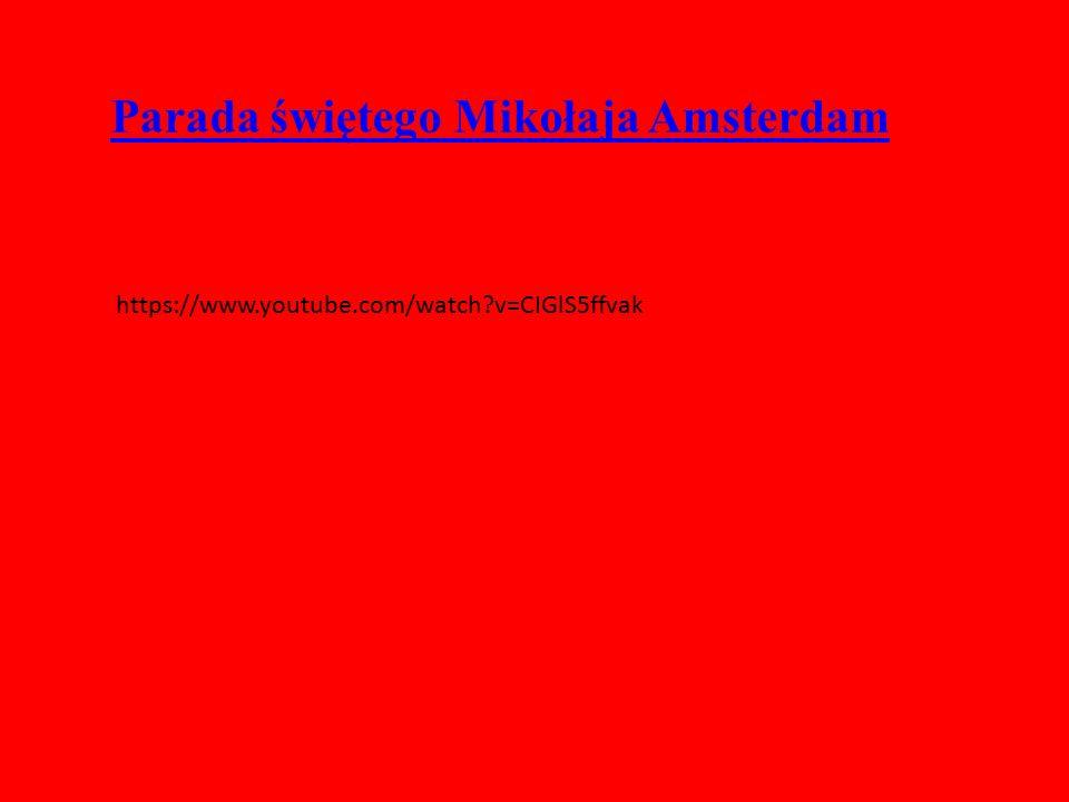 Parada świętego Mikołaja Amsterdam
