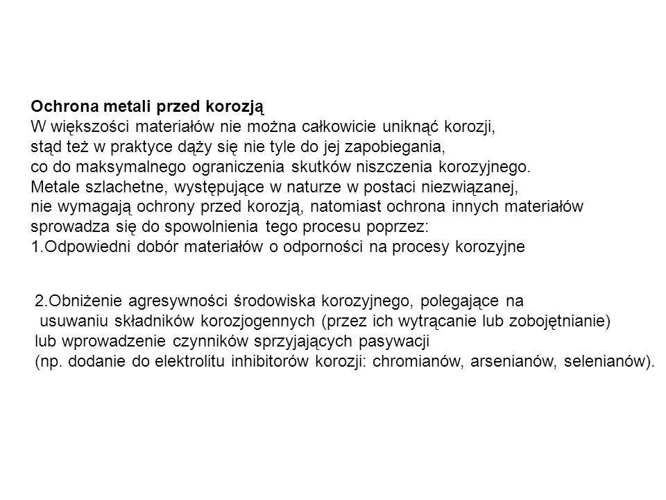 Ochrona metali przed korozją