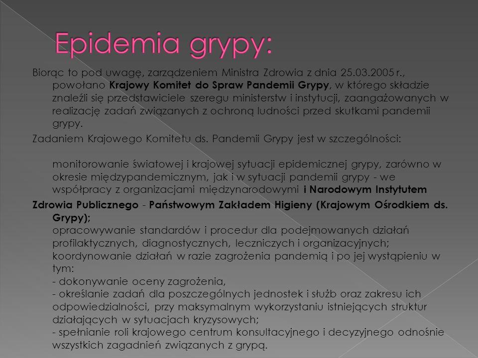 Epidemia grypy: