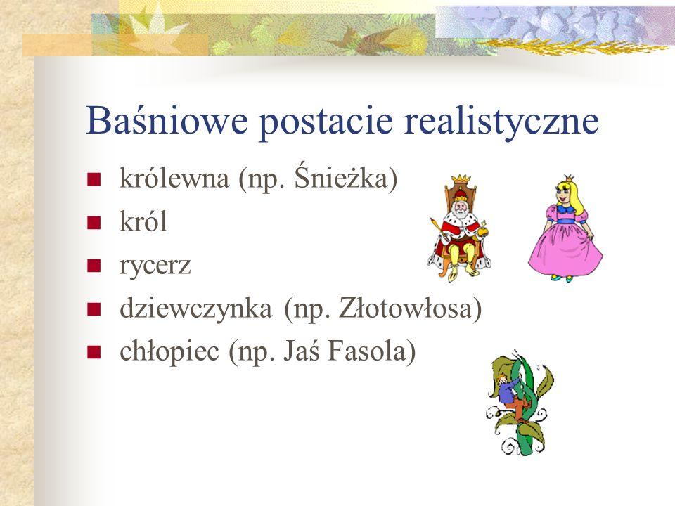 Baśniowe postacie realistyczne