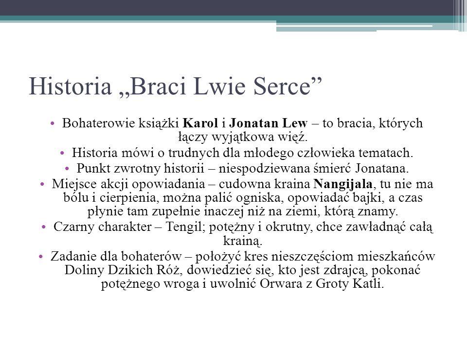 "Historia ""Braci Lwie Serce"