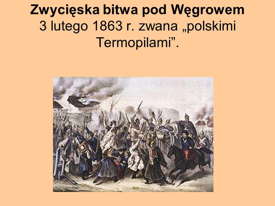 Zwycięska bitwa pod Węgrowem 3 lutego 1863 r
