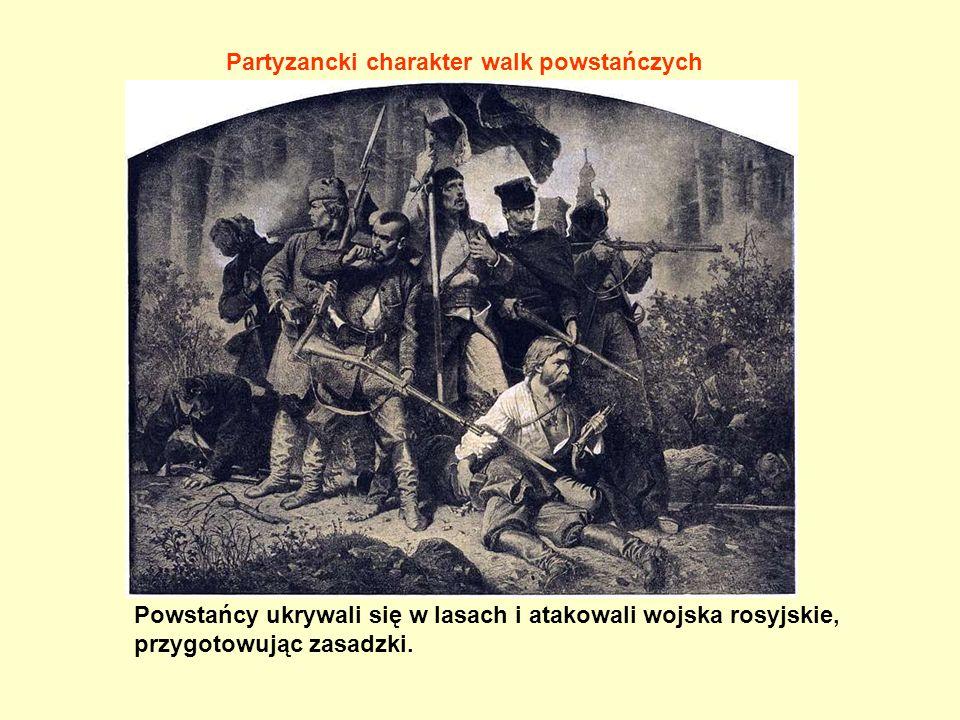Partyzancki charakter walk powstańczych