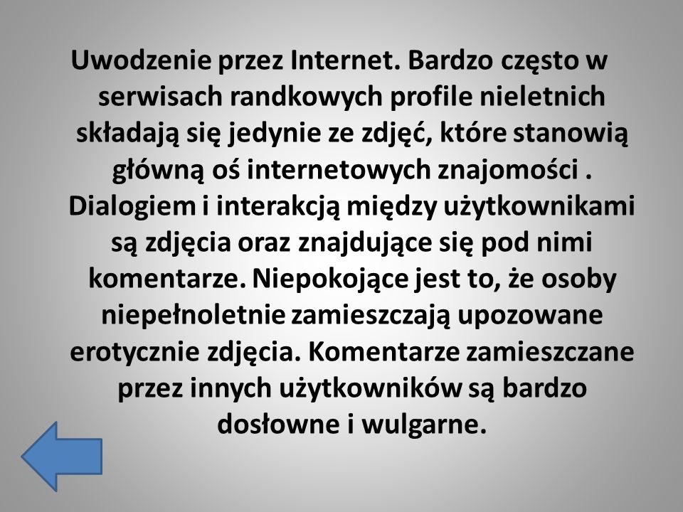 Uwodzenie przez Internet