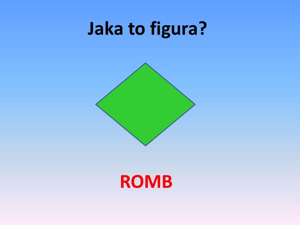 Jaka to figura ROMB