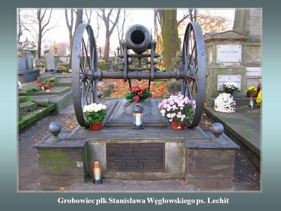 Grobowiec płk Stanisława Węglowskiego ps. Lechit