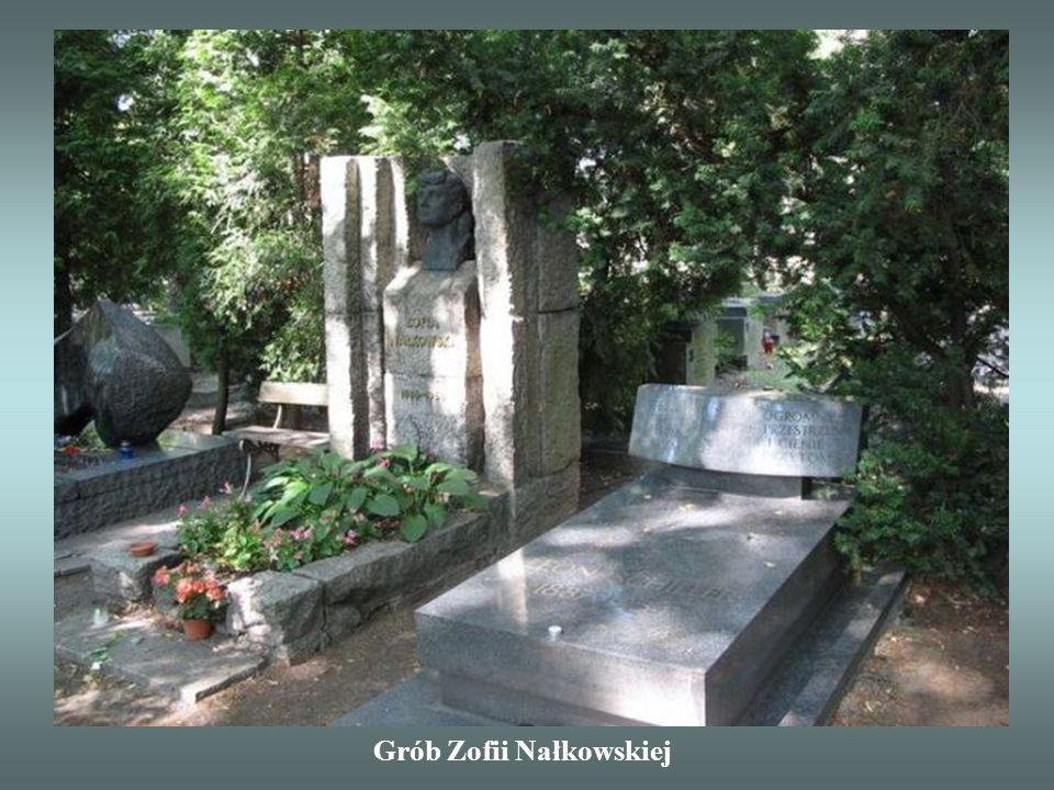 Grób Zofii Nałkowskiej