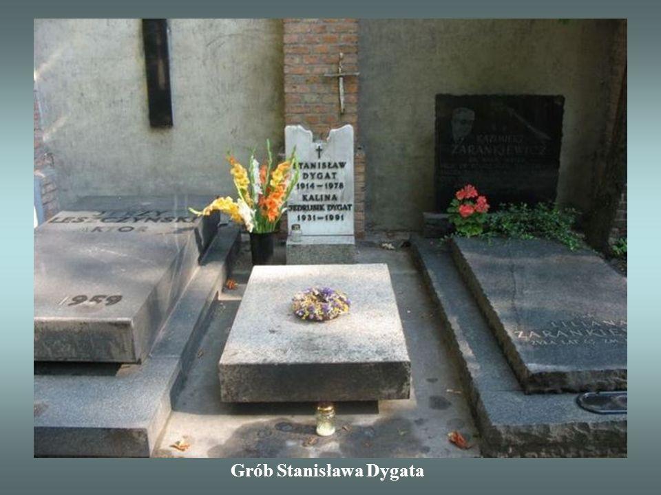 Grób Stanisława Dygata
