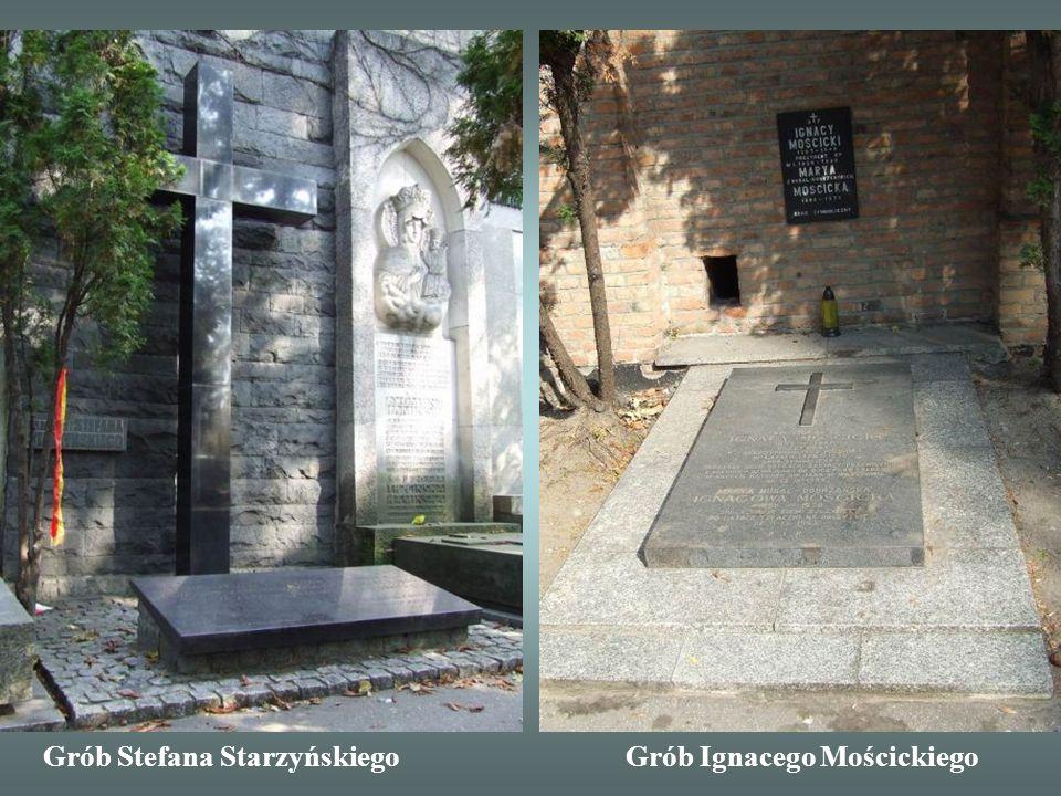 Grób Stefana Starzyńskiego Grób Ignacego Mościckiego