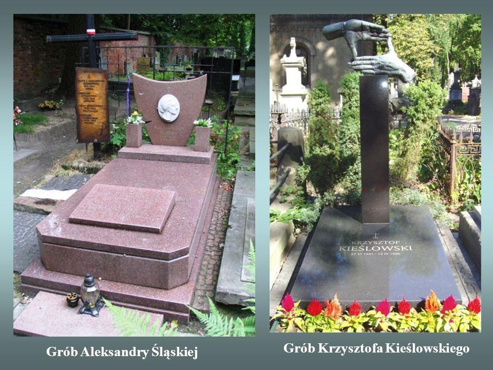 Grób Krzysztofa Kieślowskiego Grób Aleksandry Śląskiej