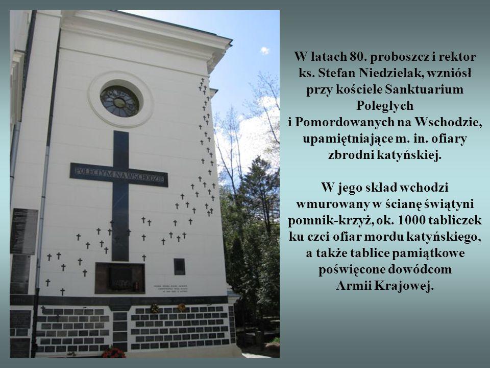 W latach 80. proboszcz i rektor ks