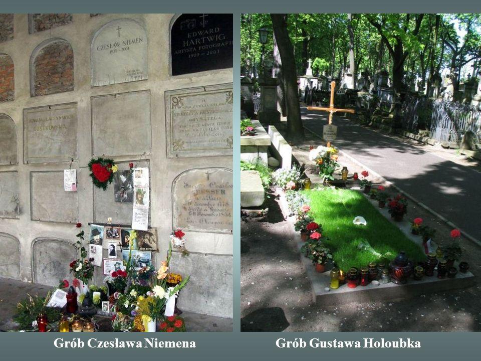 Grób Czesława Niemena Grób Gustawa Holoubka