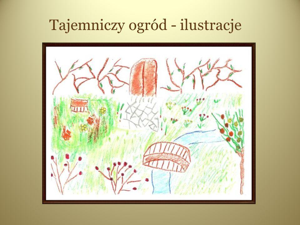 Tajemniczy ogród - ilustracje