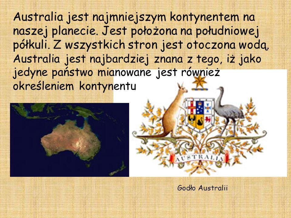 Australia jest najmniejszym kontynentem na naszej planecie