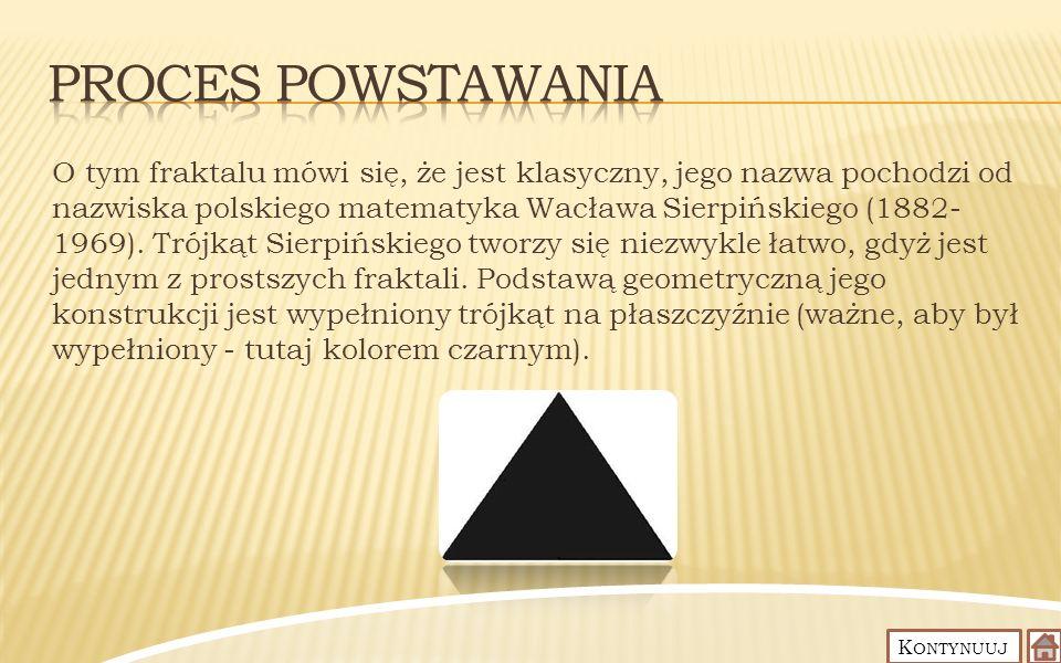 Proces Powstawania