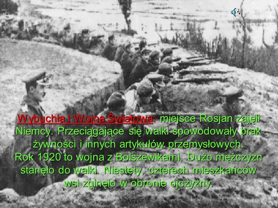 Wybuchła I Wojna Światowa: miejsce Rosjan zajęli Niemcy