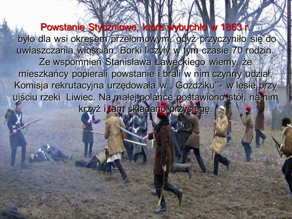 Powstanie Styczniowe, które wybuchło w 1863 r